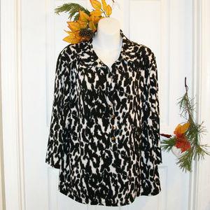ALFANI Woman 3X Stretch Knit Top 3/4 Sleeve